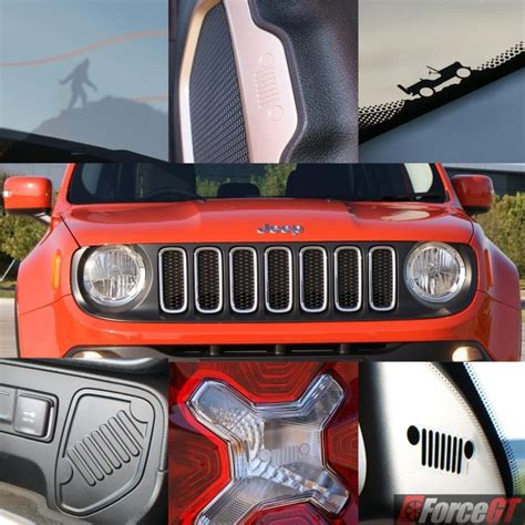 jeep easter eggs jeep renegade review 2016 renegade longitude