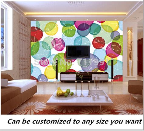 free shipping modern wall 3d murals wallpaper 3d rose aliexpress com buy free shipping custom murals round