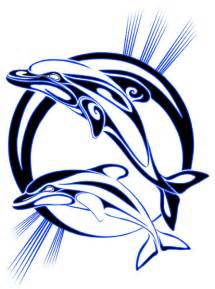 Tribal dolphin tattoos designs high quality photos and flash designs