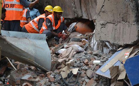 dead   injured  godown  bhiwandi collapses firstpost photo