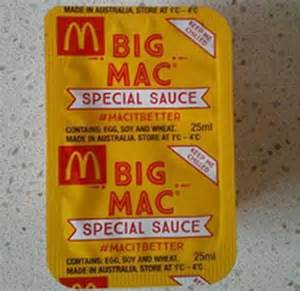 Mcdonalds Special Sauce Giveaway - mcdonald s big mac special bing images