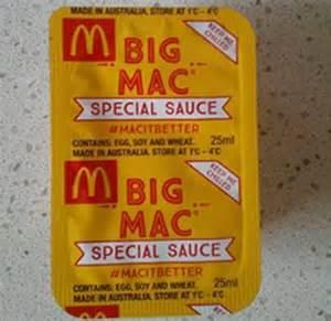 Mcdonalds Special Sauce Giveaway - mcdonald s big mac special bing images