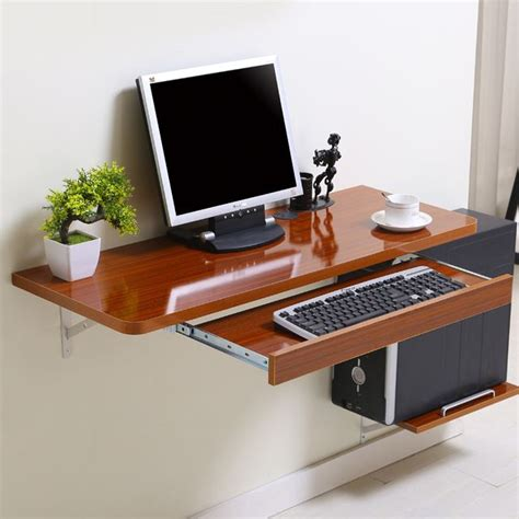 Wall Computer Desk Simple Home Desktop Computer Desk Simple Small Apartment New Space Saving Wall Table Small