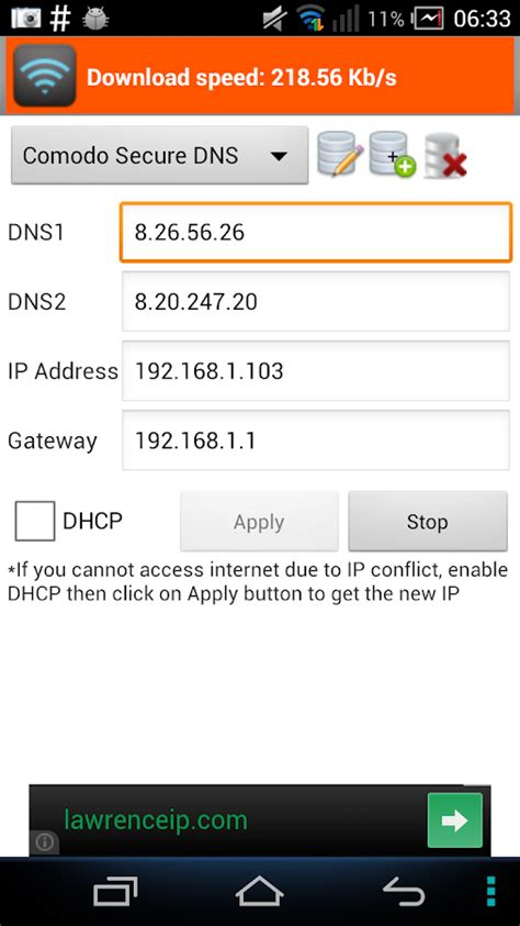 best dns ip wifi settings dns ip gateway android apps on play