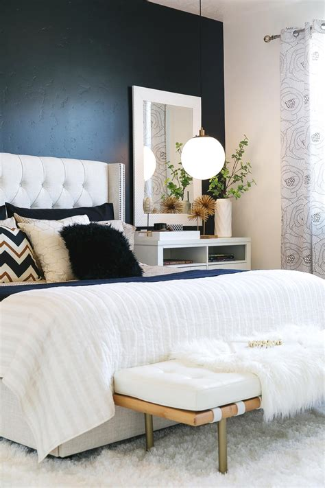 black accent wall in bedroom photos hgtv
