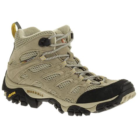 merrell moab boots s merrell 174 moab ventilator mid hiking boots taupe