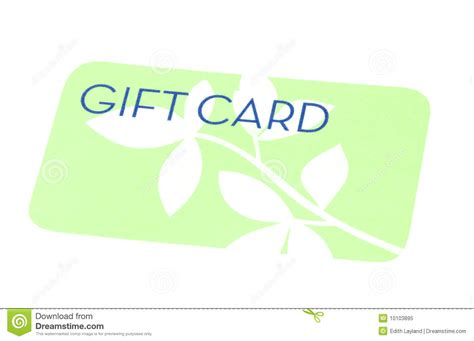 Stock Gift Card - green gift card royalty free stock photo image 10103895