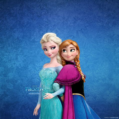 Elsa Anna Wallpaper