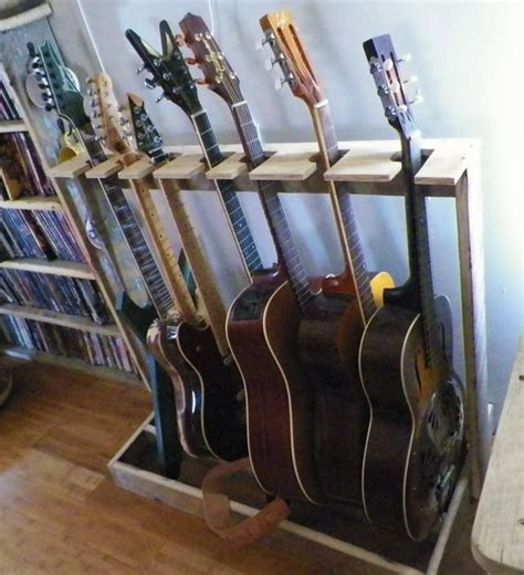 Wenger Guitar Rack by Guitar Rack Barn Wood And Guitar On