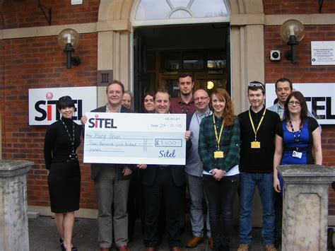 sitel exeter names as charity of the year