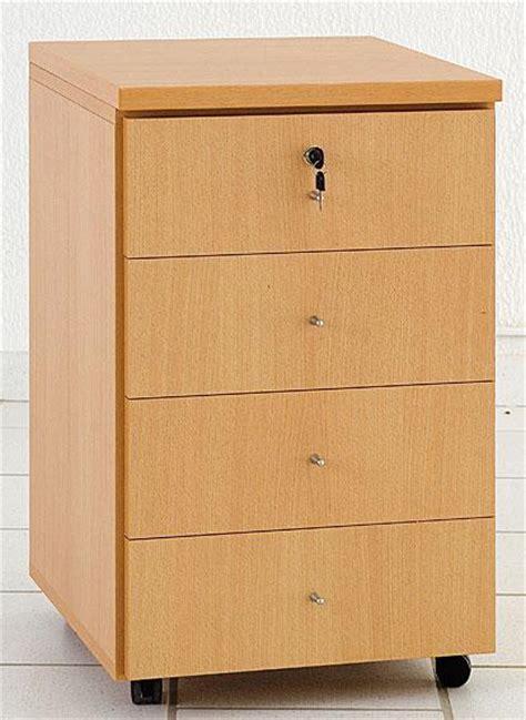 bloc 4 tiroirs blocs tiroirs rangements mobilier de bureau