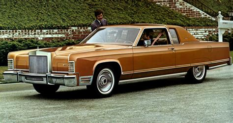 is lincoln american made to park the 5 cars of 1977 the daily drive