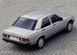 Mercedes W201 Mercedes 190 W201 1982 1983 1984 1985 1986