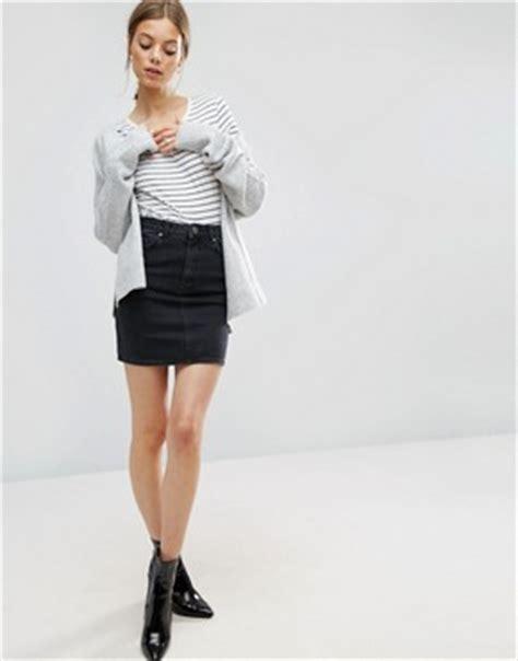 Denim Pencil Mini Skirt skirts maxi skirts mini skirts denim skirts pencil