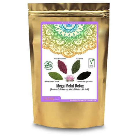 Coffee For Heavy Metal Detox by Jing Thing Original Herbal Spiced Chocolate Drink