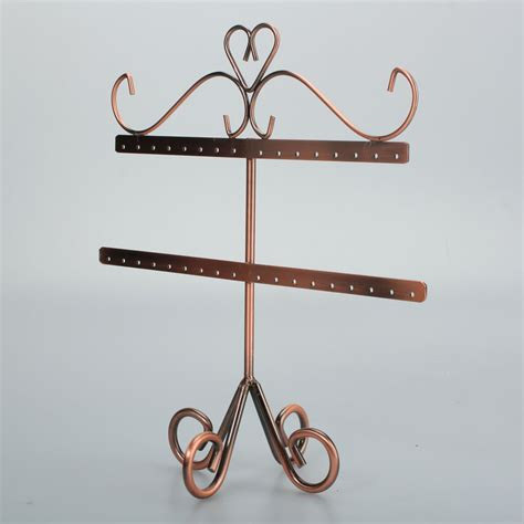 Handmade Earring Holder - chic handmade earring jewelry display stand rack holder
