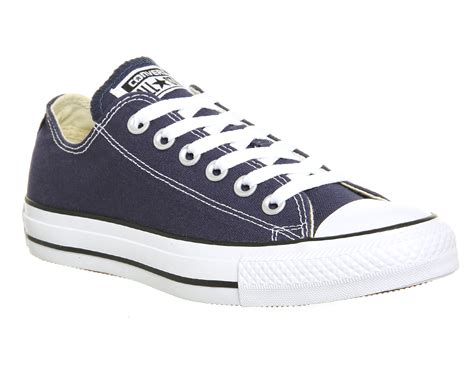 Converse All Low converse all low navy canvas unisex sports