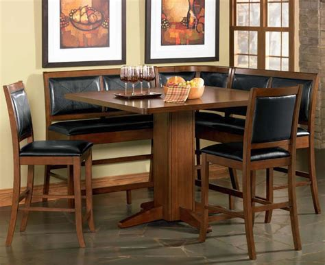 Dining Nook Table Set Counter Height Corner Breakfast Nook Chicago Dining Room Place