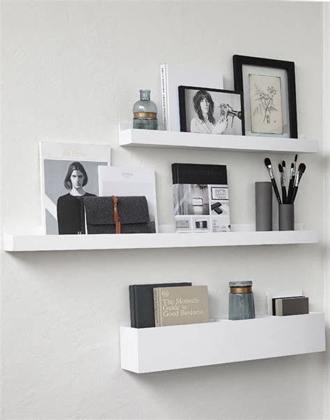 home interior shelves 25 best ideas about white shelves on pinterest bedroom shelves bedroom inspo and desk space