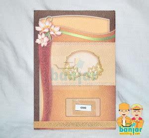 Wallpaper Batik Simpel Coklat Gold Krem Merah undangan pernikahan murah ub gx40 banjar wedding
