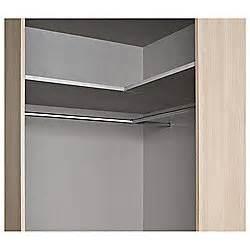 buy modular wardrobe corner hanging rail extension from