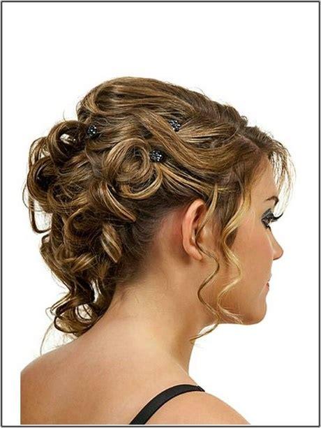 Hochzeitsfrisur Locken Kurze Haare by Hochsteckfrisur Locken Kurze Haare