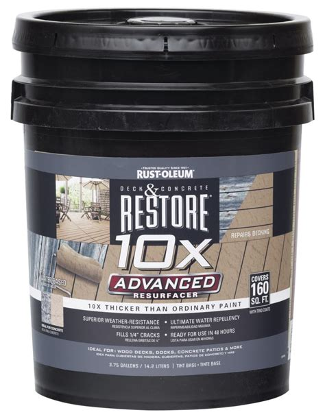 rust oleum restore  advanced resurfacer professional
