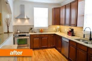 cheap kitchen cabinet makeover before amp after a mini kitchen makeover on the cheap