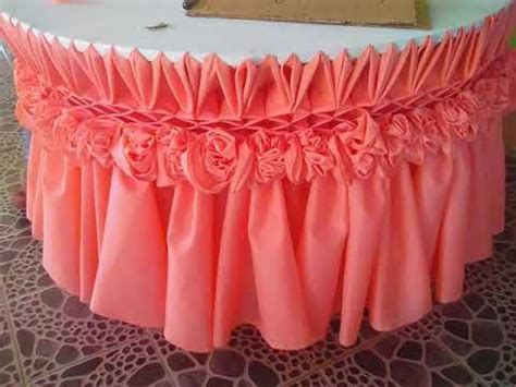 table skirting 14,,design   YouTube   Beautiful table