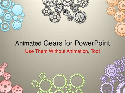 Animated Gears For Powerpoint Animated Gears Powerpoint