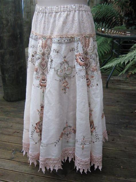 Modèles Rideaux Crochet Ancien by Vintage Embroidery Stunning Upcycled Cloth Intricate