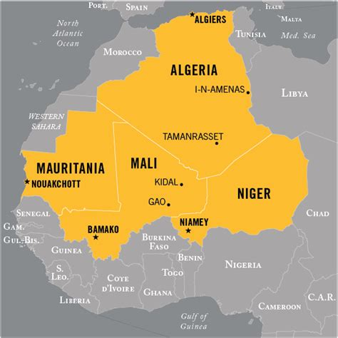 west africa map pdf terrorist groups national counterterrorism center
