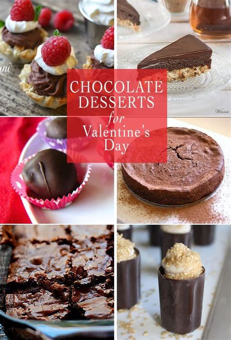 chocolate desserts for day chocolate desserts for valentines day