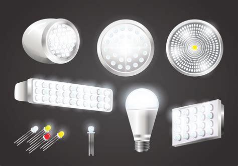 download led light for realistic led lights vectors download free vector art