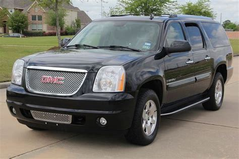 how to sell used cars 2007 gmc yukon xl 2500 engine control sell used 2007 gmc yukon denali xl clean title rust free all wheel drive dvd in houston texas