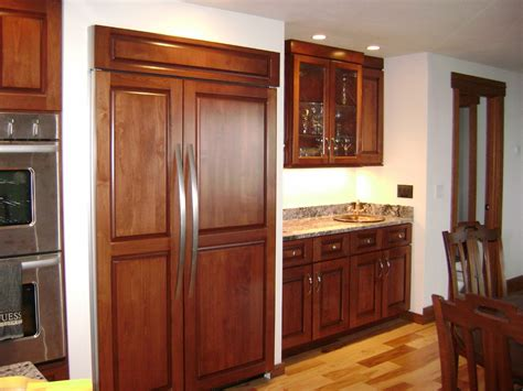 built in kitchen cabinets gawker article on smaller fridges