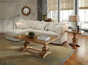 Cottage Sectional Sofa Karlee Cottage Styled Sectional With Small Chaise Ottoman 500910 Traditional Sectional Sofas