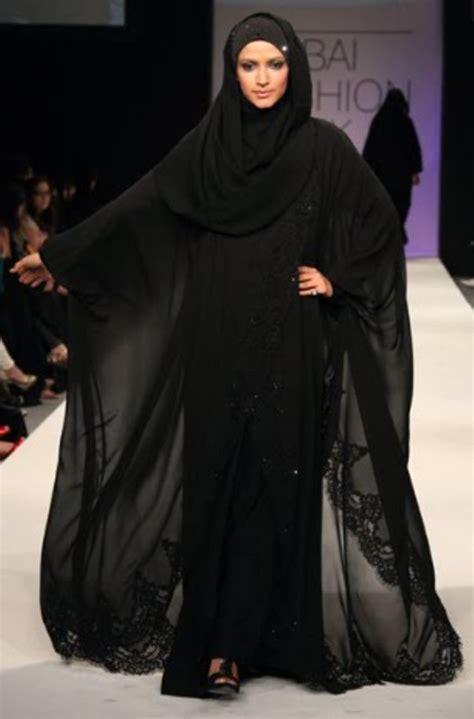 umbrella pattern burka dubai fashion week flare caftan abaya 2015 collection