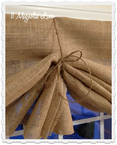 how to make curtains out of burlap diy burlap crafts 58 wreaths flowers table runners