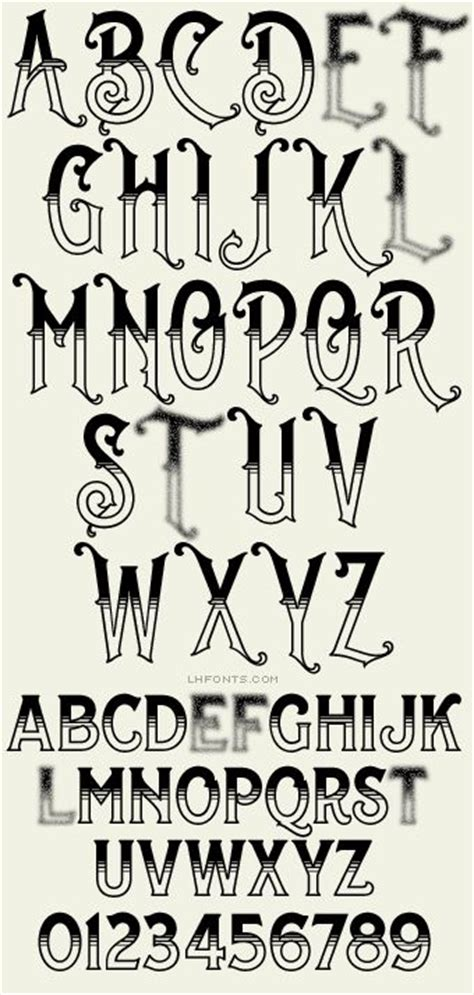 tattoo fonts bold 25 best ideas about fonts alphabet on