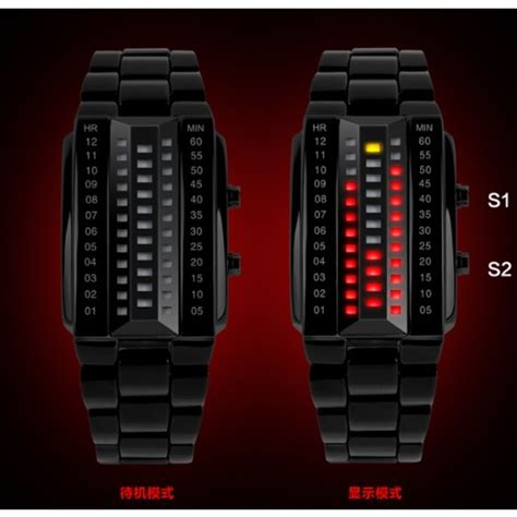 Jam Tangan Led Skmei Sport Trendy Led Display Water Resistant skmei jam tangan led wanita 1013a black jakartanotebook