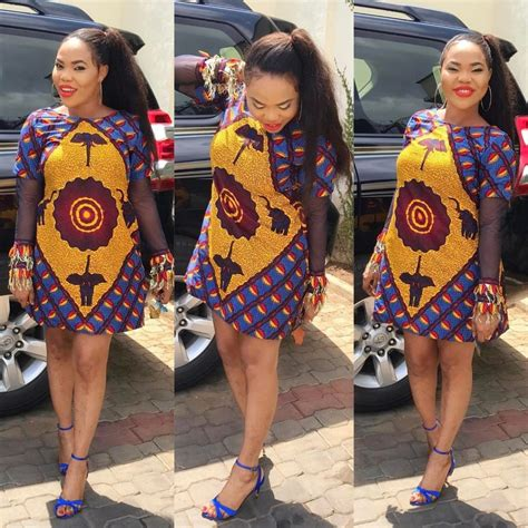 lastest ankara style for short gown 20 ankara short gown styles you should try this year