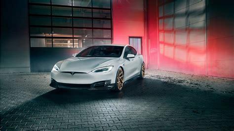 Tesla Car Wallpaper Hd by 2017 Novitec Tesla Model S 4k 3 Wallpaper Hd Car