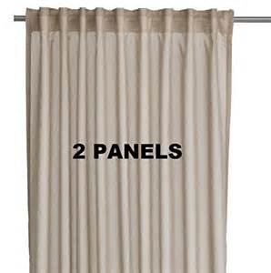 Ikea Vivan Curtains Decorating Ikea Vivan Pair Of Curtains Drapes 2 Panels Beige Color Home Garden Decor Window Treatment