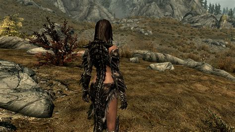 skyrim nexus mods and community daedric female armor replacer at skyrim nexus mods and