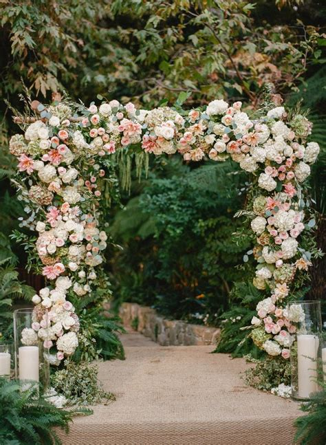 Garden Arch With Flowers 25 Best Ideas About Weddings On