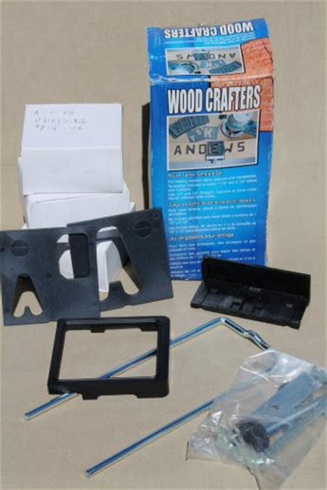 router template guide set woodworking