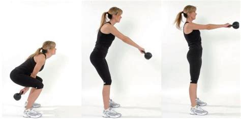 fitness swing kettlebell swing workout move rally fitness