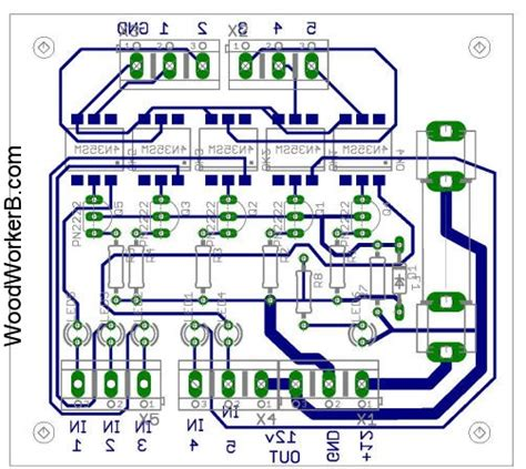 how the pcb for allowance is calculated optoisoboardrev01 pcb woodworkerb