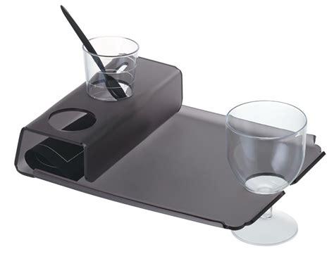 bicchieri plastica finger food vassoio in plastica con foro porta bicchiere e finger food